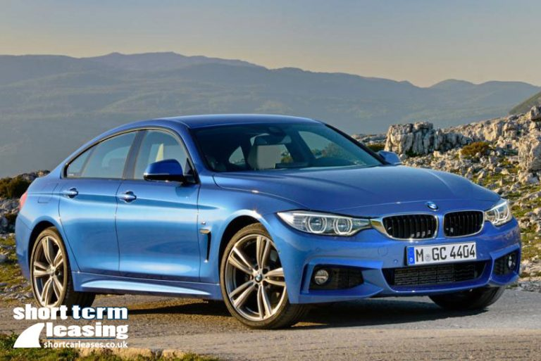 BMW 4 Series Gran Coupe on 6 Month Lease