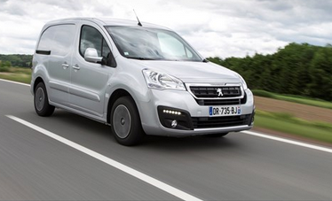Peugeot Partner available on a 12 month van lease