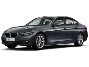 BMW 3 Series Saloon available on a 12 month car lease with 12000 miles over the term of the contract