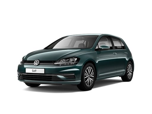 Volkswagen Golf Hatchback available on a 6.5 month car lease with 8125 miles over the term of the contract