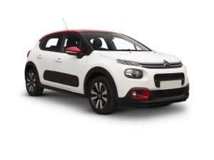 Citroen C3 Hatchback available on a 12 month car lease with 18000 miles over the term of the contract