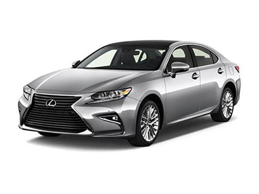 Lexus ES Saloon available on a 6 month car lease with 9000 miles over the term of the contract