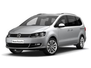 Volkswagen Sharan Estate available on a 6 month car lease with 9000 miles over the term of the contract