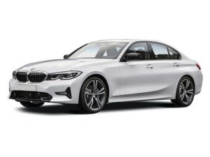 BMW 3 Series Saloon available on a 12 month car lease with 18000 miles over the term of the contract
