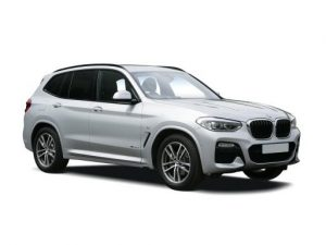 BMW X3 Estate available on a 9 month car lease with 13500 miles over the term of the contract