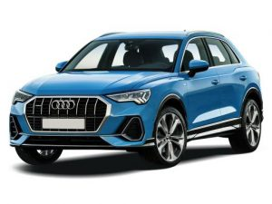 Audi Q3 Sportback available on a 12 month car lease with 18000 miles over the term of the contract