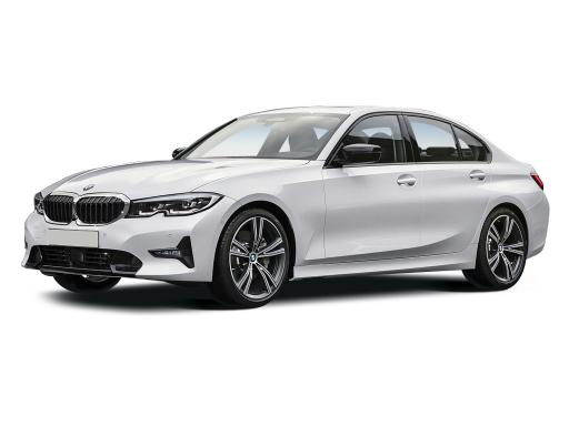 BMW 3 Series Saloon available on a 5 month car lease with 7500 miles over the term of the contract