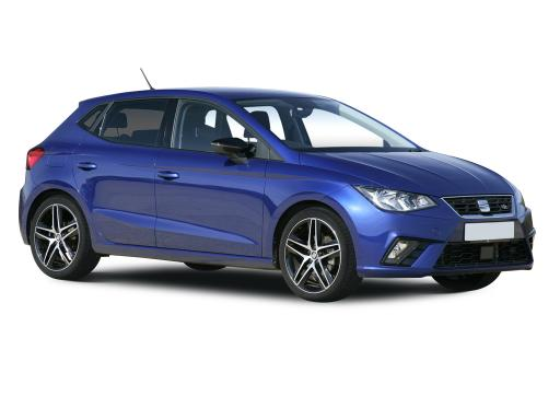 SEAT Ibiza Hatchback available on a 12 month car lease with 18000 miles over the term of the contract