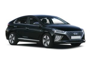 Hyundai Ioniq Hatchback available on a 12 month car lease with 9996 miles over the term of the contract