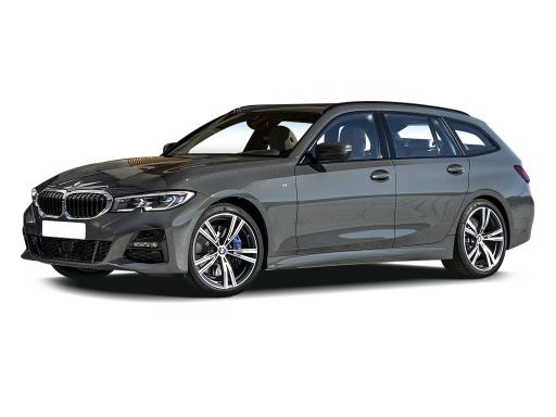 BMW 3 Series Touring available on a 12 month car lease with 18000 miles over the term of the contract