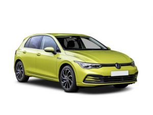 Volkswagen Golf Hatchback available on a 6 month car lease with 9000 miles over the term of the contract