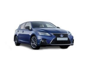 Lexus CT Hatchback available on a 12 month car lease with 18000 miles over the term of the contract