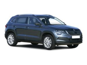 Skoda Karoq Estate available on a 7.5 month car lease with 15000 miles over the term of the contract