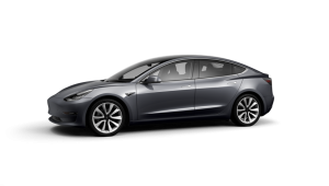 Tesla Model 3 Saloon available on a 12 month car lease with 12000 miles over the term of the contract