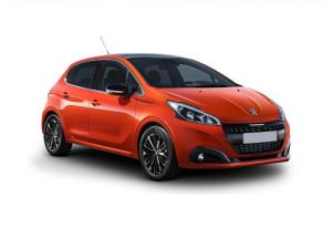 Peugeot 208 Hatchback available on a 12 month car lease with 12000 miles over the term of the contract