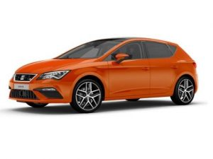 Seat Leon Hatchback available on a 7.5 month car lease with 11250 miles over the term of the contract