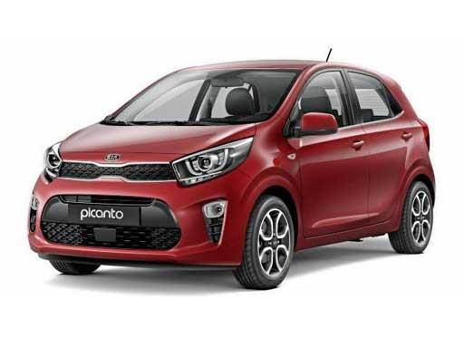 Kia Picanto Hatchback available on a 6 month car lease with 9000 miles over the term of the contract