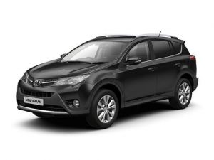 Toyota RAV4 Estate available on a 5 month car lease with 7500 miles over the term of the contract