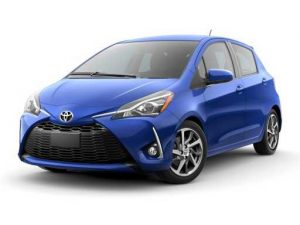 Toyota Yaris Hatchback available on a 6 month car lease with 9000 miles over the term of the contract