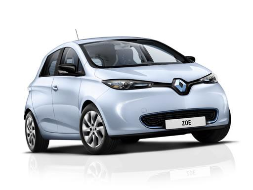 Renault Zoe Hatchback available on a 12 month car lease with 9996 miles over the term of the contract