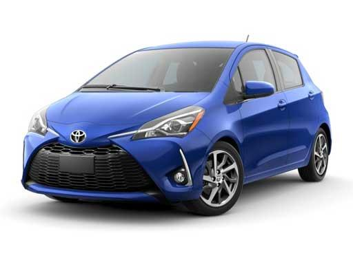 Toyota Yaris Hatchback available on a 6 month car lease with 12000 miles over the term of the contract