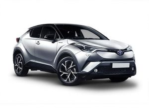 Toyota C-HR Hatchback available on a 5 month car lease with 7500 miles over the term of the contract