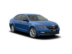 Skoda Octavia Estate available on a 7.5 month car lease with 15000 miles over the term of the contract