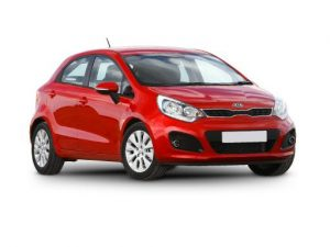 Kia Rio Hatchback available on a 6 month car lease with 9000 miles over the term of the contract