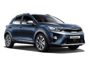 Kia Stonic Estate available on a 6 month car lease with 9000 miles over the term of the contract