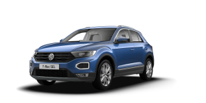 VW T-Roc Hatchback available on a 6 month car lease with 9000 miles over the term of the contract