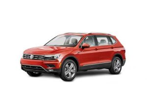 VW Tiguan Allspace Estate available on a 6 month car lease with 9000 miles over the term of the contract