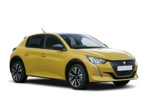 Peugeot 208 Hatchback available on a 9 month car lease with 9000 miles over the term of the contract