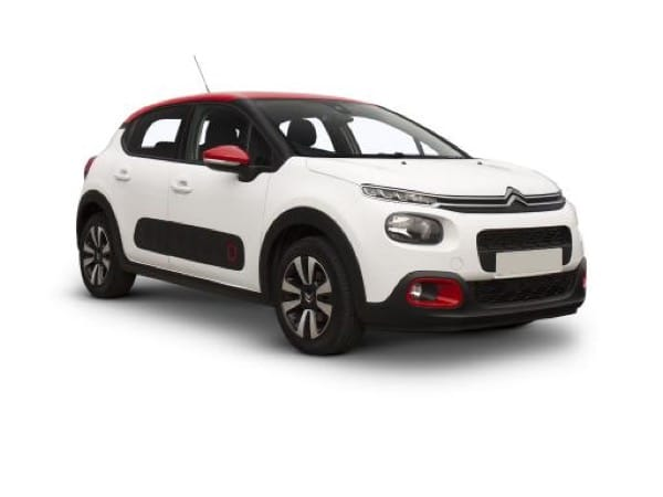 Citroen C3 Hatchback available on a 6 month car lease with 6000 miles over the term of the contract