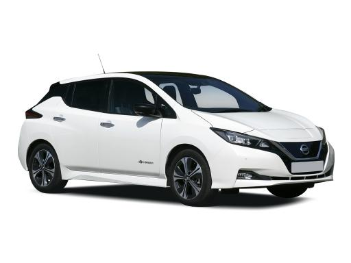 Nissan Leaf Hatchback available on a 9 month car lease with 18000 miles over the term of the contract