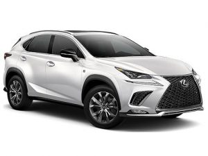 Lexus NX Estate available on a 6 month car lease with 9000 miles over the term of the contract
