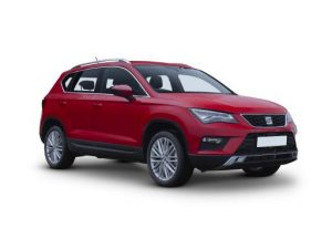 Seat Ateca Estate available on a 12 month car lease with 15000 miles over the term of the contract