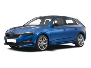 Skoda Scala Hatchback available on a 7 month car lease with 10500 miles over the term of the contract