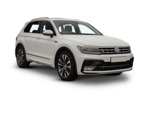VW Tiguan Estate available on a 12 month car lease with 18000 miles over the term of the contract
