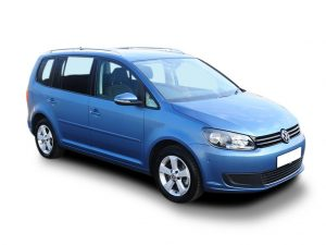 VW Touran Estate available on a 7 month car lease with 10500 miles over the term of the contract