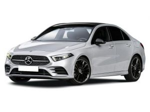 Mercedes-Benz A Class Saloon available on a 23 month car lease with 19159 miles over the term of the contract