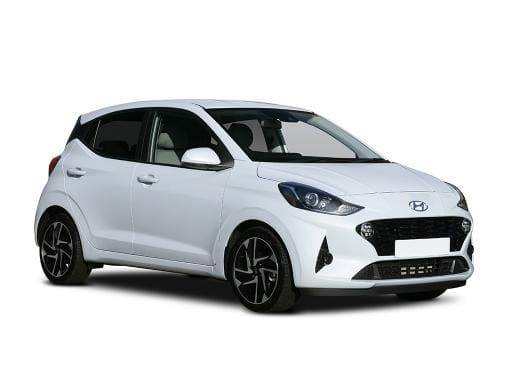 Hyundai i10 Hatchback available on a 6 month car lease with 9000 miles over the term of the contract
