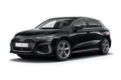Audi A3 Sportback available on a 9 month car lease with 13500 miles over the term of the contract