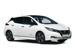 Nissan Leaf Hatchback available on a 6 month car lease with 7500 miles over the term of the contract