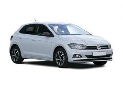VW Polo Hatchback available on a 6 month car lease with 9000 miles over the term of the contract
