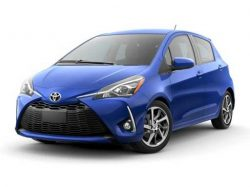 Toyota Yaris Hatchback available on a 12 month car lease with 15000 miles over the term of the contract