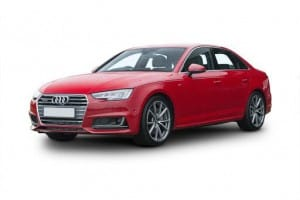 Audi A4 Saloon 40 TDI Black Edition S Tronic 4dr Automatic [GL] on flexible vehicle lease
