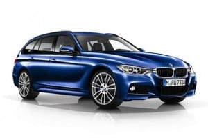 BMW 3 Series Touring 320i M Sport Shadow Edition 5dr Automatic [GL] on flexible vehicle lease