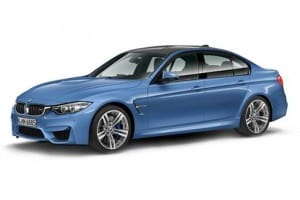 BMW M3 Saloon M3 DCT 4dr Automatic [GL] on flexible vehicle lease