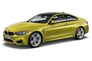 BMW M4 Coupe M4 DCT 2dr Automatic on flexible vehicle lease