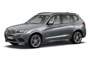 BMW X3 Estate xDrive 20d M Sport Step 5dr Automatic [GL] on flexible vehicle lease